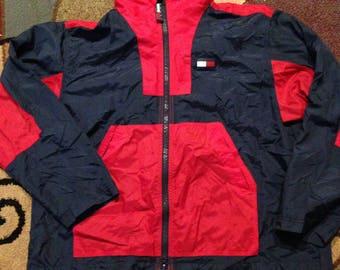 Vintage Tommy Hilfiger windbreaker jacket!!!
