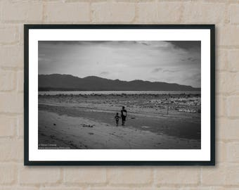Man and boy. Photography Prints, home decor, home prints, gifts, wall art, prints, gift ideas, home accessories, art prints