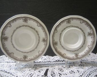 Kensington R2815 Shakespeares Sonnets 2 Saucers Only