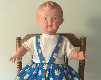 Antique German Schildkrot Doll circa 1940