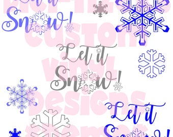 Digi-tizers Let it snow let it snow let it snow (SVG Studio V3 JPG)