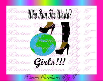 Who Run The World SVG