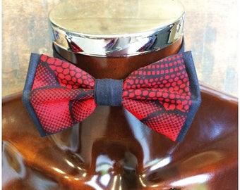 Papillonen 35 wax fabric bow