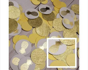 Pineapple Party Decorations Pineapple Confetti Tropical Shower Decorations Tropical Bachelorette Decor Pineapple Birthday Pineapple Table