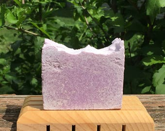 Tropical Salt Bar (Sea Salt Soap Bar, Tropical Scented Soap, Salt Soap Bar made with Sea Salt, Coconut Oil and Shea Butter)