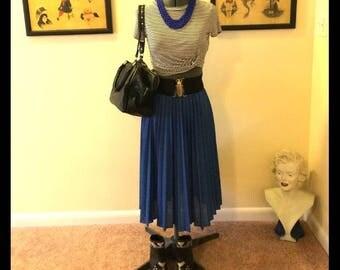 Vintage 80's pleated skirt