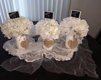 Wedding-Centerpiece, Ball Mason Jar, Mason Jar, Rustic Home Decor, Rustic Mason Jar Decor, Rustic Wedding Decor, Kitchen Decor, Shabby Chic