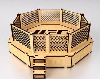 """3d drawing puzzle game from the tree """"arena box"""" . File for manufacture on CNC"""