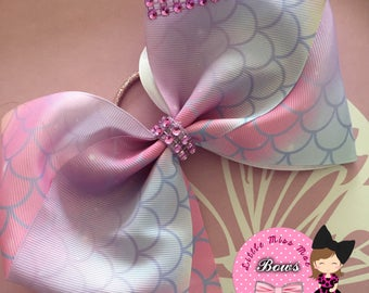 Mermaid scale large bow