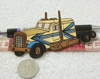 Truck Iron-On Patches
