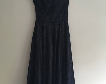 Stunning Vintage Laura Ashley Evening Dress
