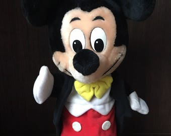 1980s Disney Parks Exclusive Mickey Mouse Hand Puppet