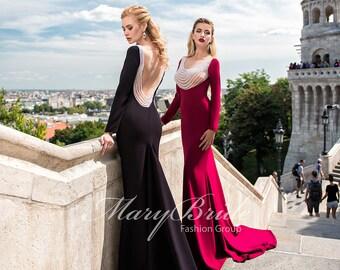 Budapest- Evening dress V-040