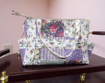quilted handbags, purses, handmade purses
