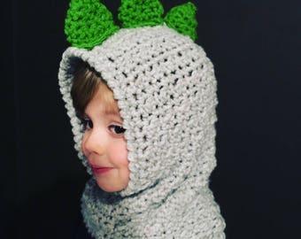 Dinosaur Hood