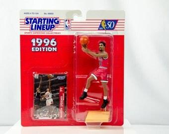 Starting Lineup 1996 Scottie Pippen Action Figure Chicago Bulls