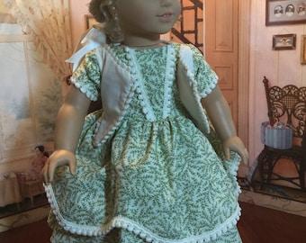 Pre-Civil War dress for 18 inch dolls
