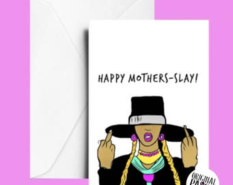 Beyonce Mother's Day card