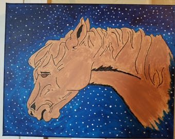 Horse of the starry sky