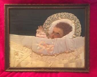 Baby Memorial in Frame