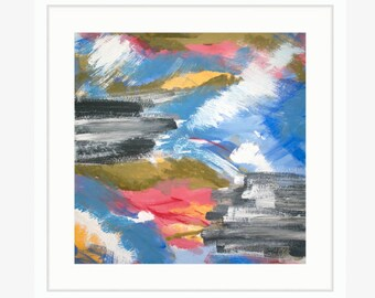 Burst, Abstract Fine Art Print