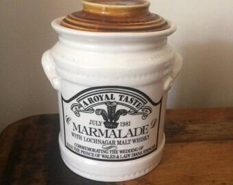 Mrs bridges marmalade jar july 1981 limited addition