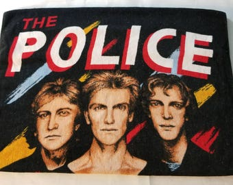 "Vintage 1983 The Police Sting Beach Towel 28""x55"""