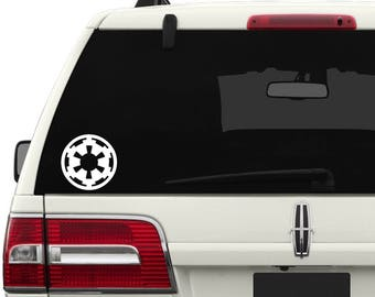Imperial Crest Vinyl Decal, Imperial Crest Sticker, Star Wars Decal, Star Wars Sticker, Star Wars, Car Decal, Imperial Crest Symbol