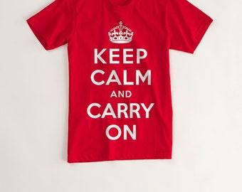 Keep Calm and Carty on Tshirt