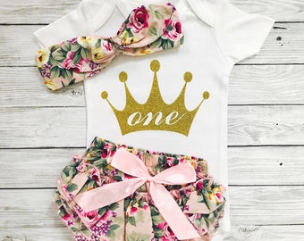 First Birthday Girl, First Birthday Outfit Girl, 1st Birthday Outfit, First Birthday Shirt First Birthday Outfits First Birthday Girl Outfit