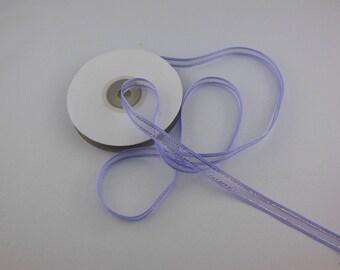Width 10 mm purple organza Ribbon