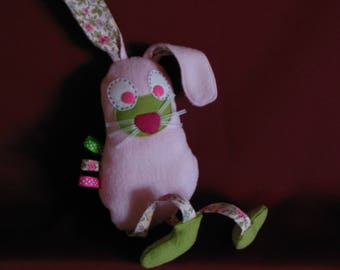 "Doudou labels ""naughty Bunny"" fleece"