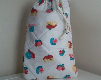 Bag pouch with DrawString