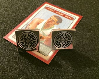 Vintage Classic Medallion Cuff Links