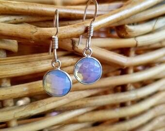 Milky Opal Earrings