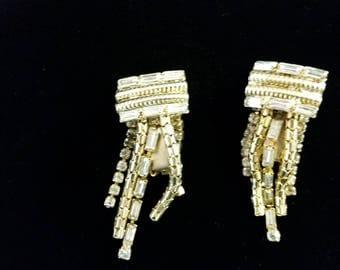 Fine Art Deco Vintage dangle earrings