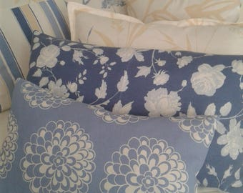 Decorative pillows,floral pillow,pillows,beige pillows,navy blue pillows,set of pillows,pillow cover,striped pillows.
