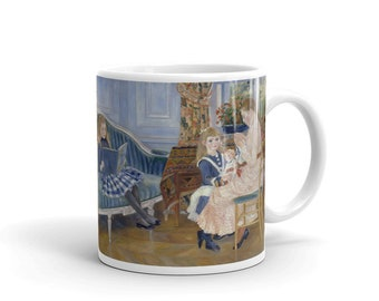Auguste Renoir, Laprs-midi des enfants Wargemont - Mug made in the USA