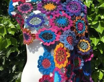 Scarf shawl shawl