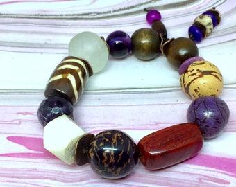 Ethnic Boho Chunky Bracelet     Shipping Included