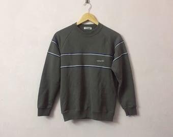 SALE ! Vintage ADIDAS Sweatshirt small logo embroidery logo