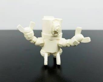 "9th Circle Robotics, ""Aldiss"", Blank, Handmade Resin Art Toy Sculpture - Ready to be Customized for Your Faction"