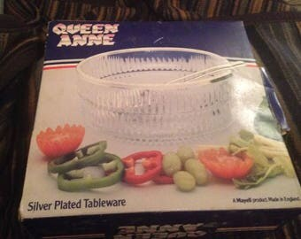 Queen Anne Silver Plated Tableware - Original/Retro