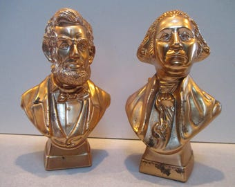 1979 Avon Washington and Lincoln Head Bust