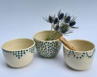 à pois Tea bowls