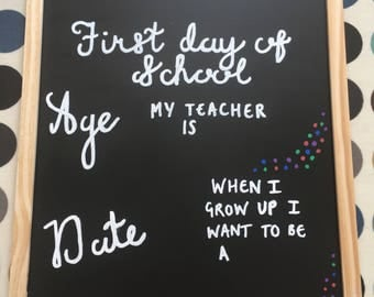 First day board