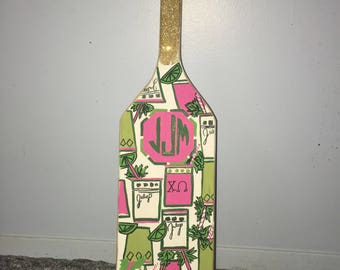 Lilly Pulitzer inspired SORORITY PADDLES
