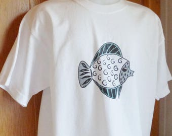 Fish man t-shirt S-XXL