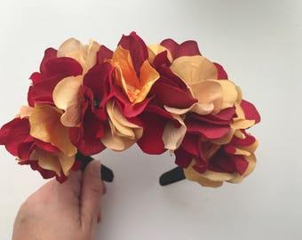 Florida State University Seminoles Floral Headband