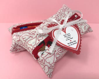 Valentines Day Gift | Valentines Day | Valentine | Teacher Valentine | Favors | Bestie Valentine | Tissue Case | Gift for Him | Gift for Men